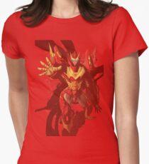Rodimus in orange Women's Fitted T-Shirt