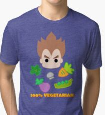 Vegeta - 100percent vegetarian Tri-blend T-Shirt