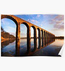 The Royal Border Bridge, Berwick Upon Tweed Poster