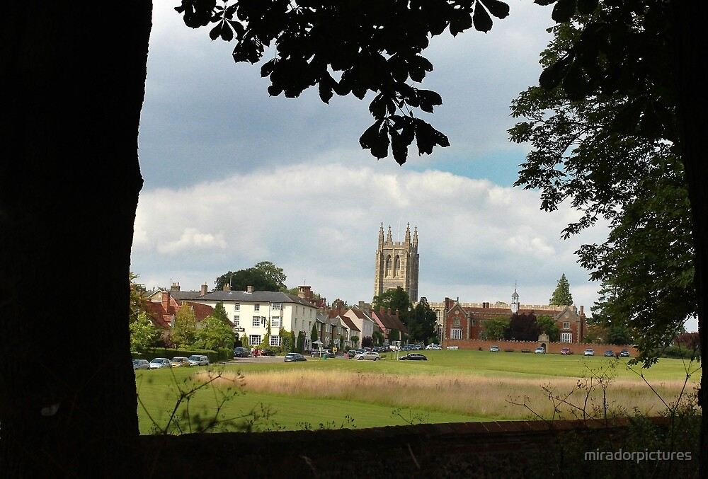 Long Melford village, Suffolk by miradorpictures