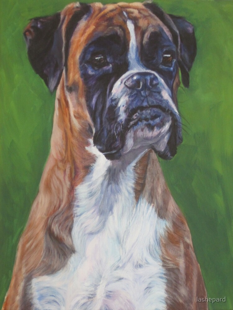 Boxer Fine Art Painting by lashepard