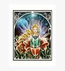 Art Nouveau: Fairy of the Night Art Print