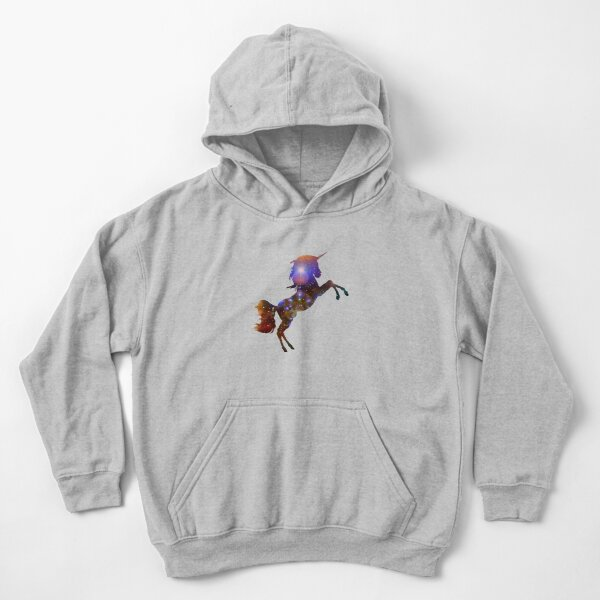 Unicorn Galaxy Kids Pullover Hoodie