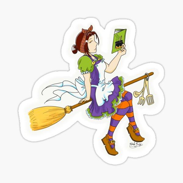 Kitchen Witch Sticker