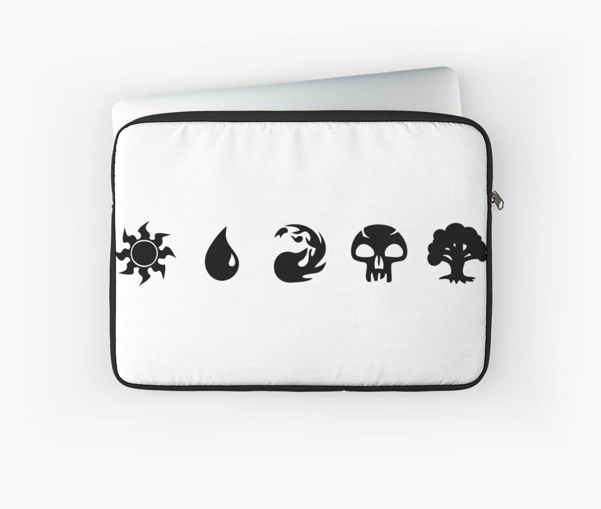 Monster Hunter Symbols Laptop Sleeves By Elisa88 Redbubble