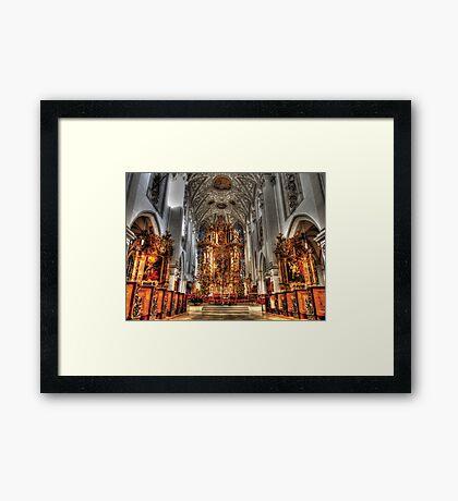 Alter - Landsberg am Lech Cathedral Framed Print