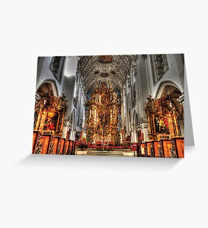Alter - Landsberg am Lech Cathedral Greeting Card
