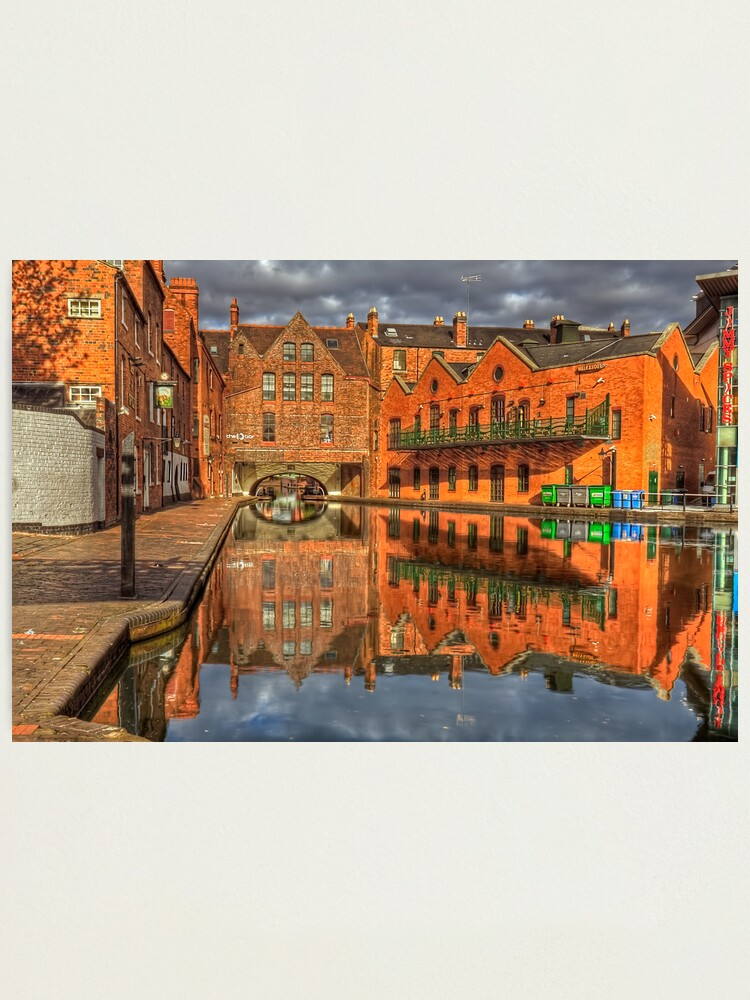 Alternate view of The Canal Photographic Print