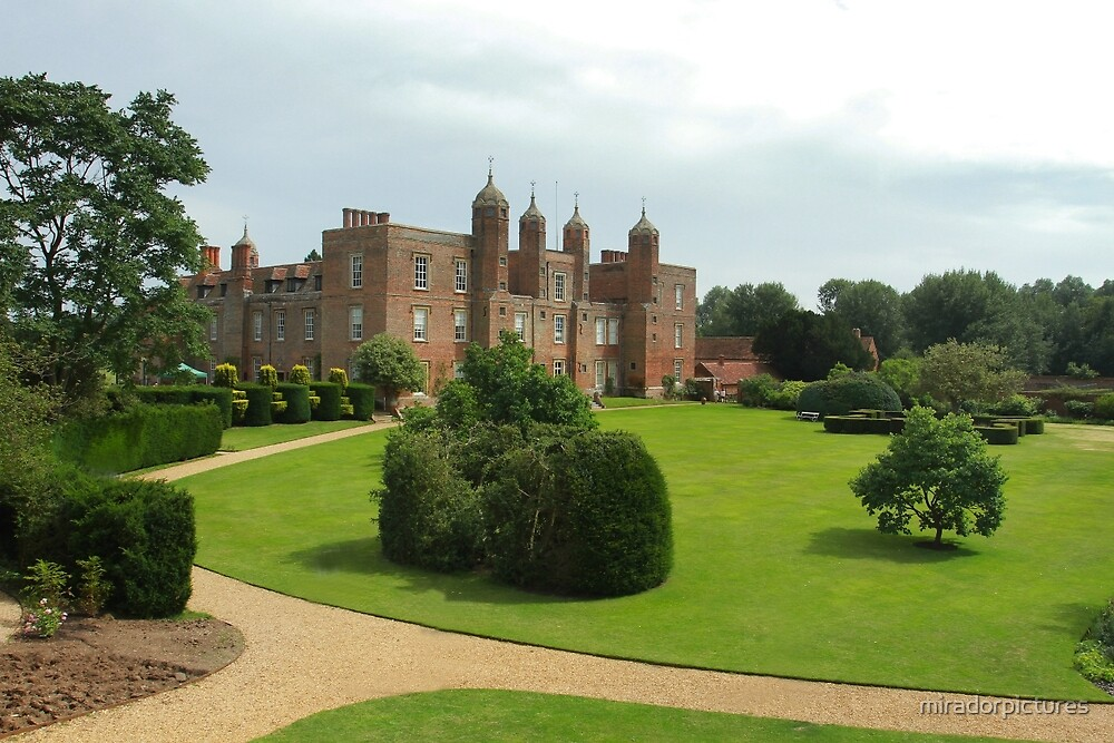 Long Melford hall, Suffolk by miradorpictures