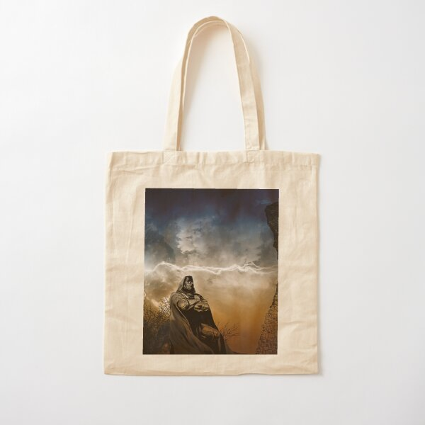 Victor Cotton Tote Bag