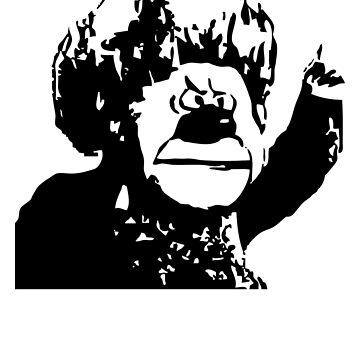 Navidad Miser Stencil de astropop
