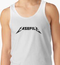 Casefile True Crime – Casefile Metallica Tribute (Dark) Tank Top