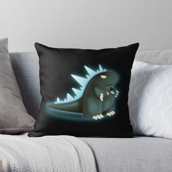 Monster King Throw Pillow