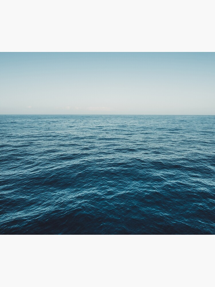 ocean, water, blue sky  -  horizon over water - seascape photography by ohaniki