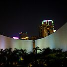 Colourful Hong Kong Cultural Centre by Richie Wessen