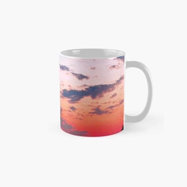 Creme Clouds and Shadowed Trees by Jerald Simon (Music Motivation - musicmotivation.com) Classic Mug
