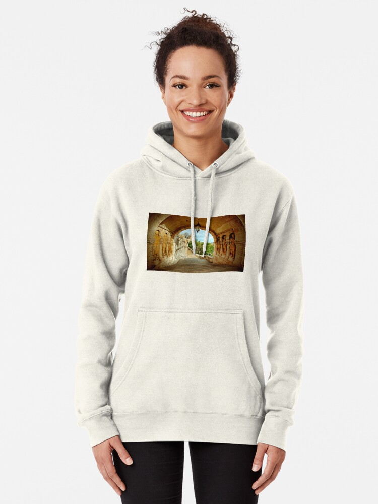 Alternate view of Fisherman's Bastion Pullover Hoodie