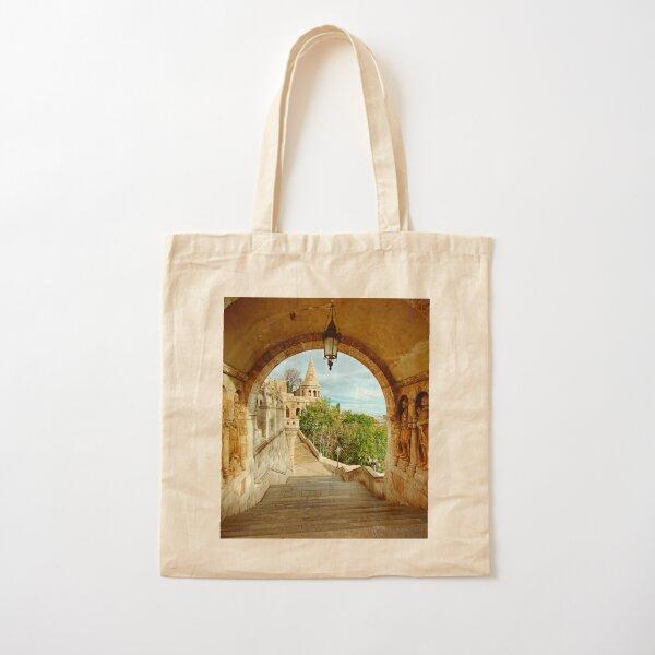 Fisherman's Bastion Cotton Tote Bag