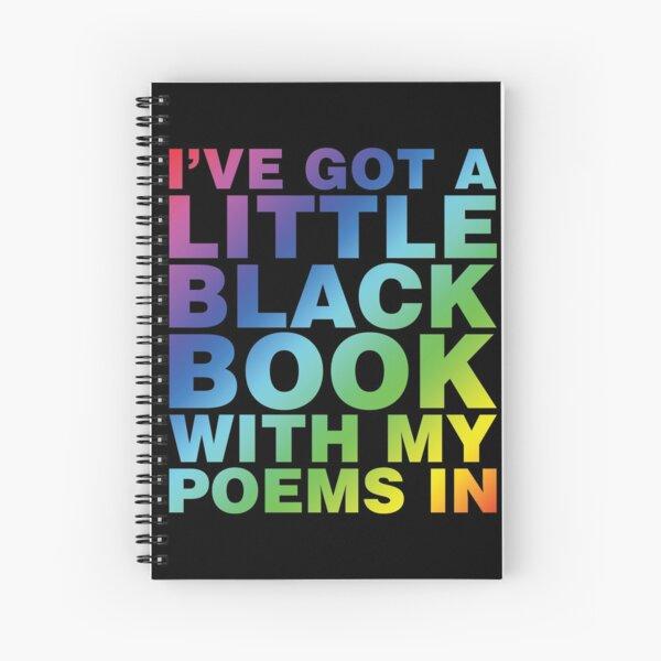 A Little Black Book Spiral Notebook