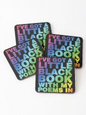 A Little Black Book Coasters