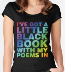 A Little Black Book Fitted Scoop T-Shirt