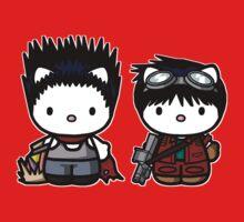Tetsuo and Kaneda Hello Kitties