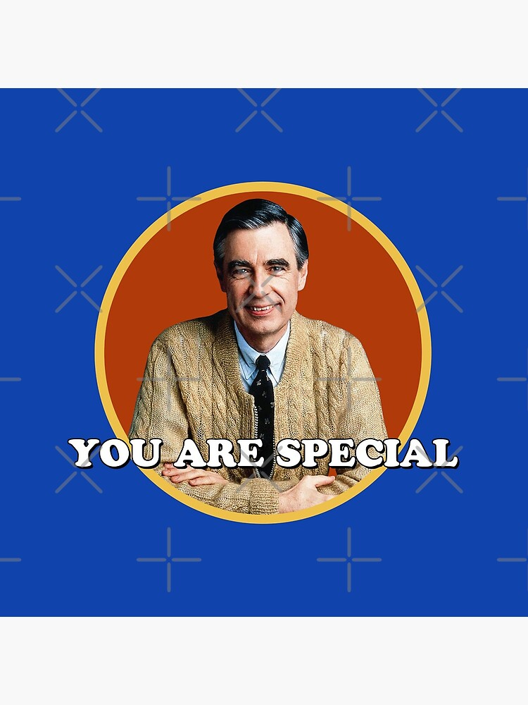Mr Rogers You Are Special Sticker Tote Bag By Holidays4you Redbubble