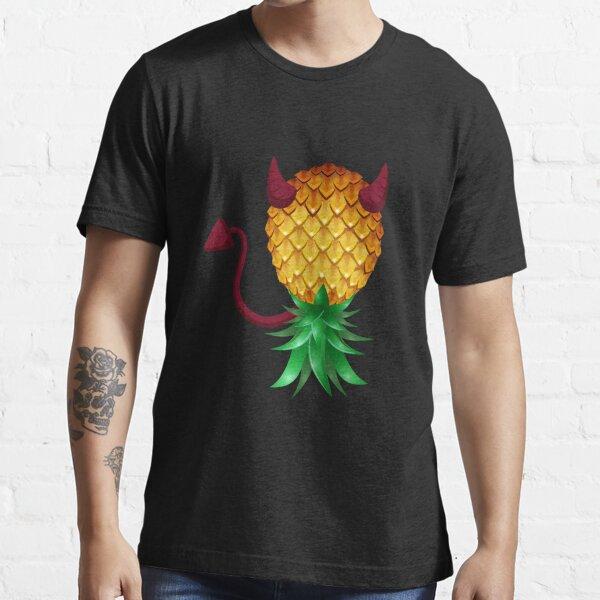Devil Swinger Upside Down Pineapple Essential T-Shirt