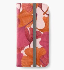 Autumn Ginkgo Leaves iPhone Wallet/Case/Skin
