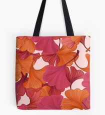 Autumn Ginkgo Leaves Tote Bag