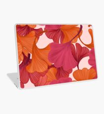 Autumn Ginkgo Leaves Laptop Skin