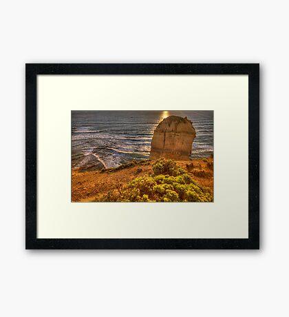 Rock Garden - The Twelve Apostles, The Great Ocean Road, Australia - The HDR Experience Framed Print