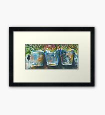 Buckets of Blooms Framed Print