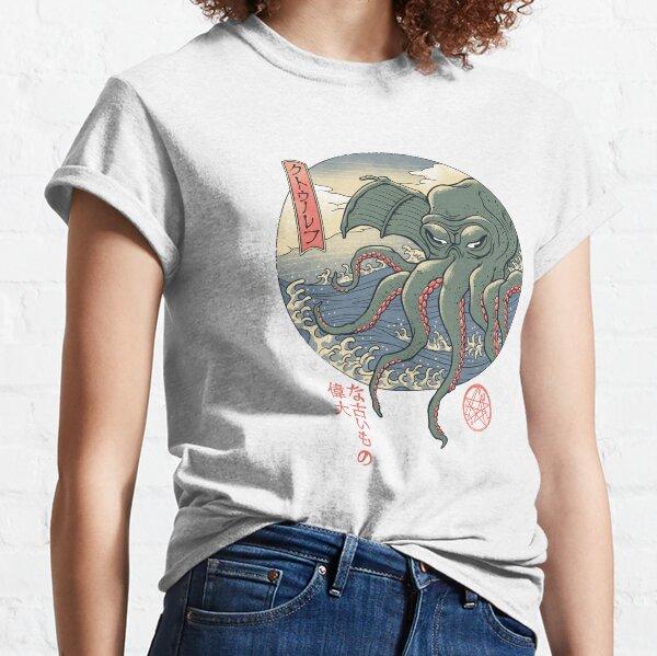 Cthulhu Ukiyo-e T-shirt classique