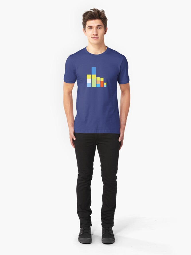 Alternate view of Folk on the Block Slim Fit T-Shirt