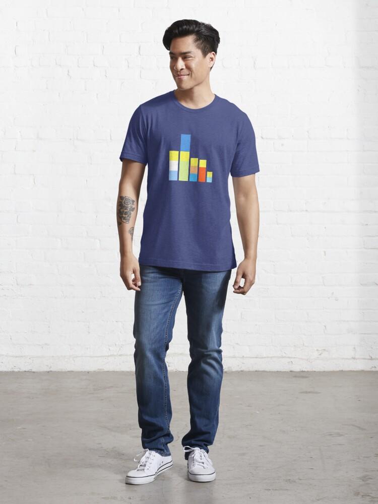 Alternate view of Folk on the Block Essential T-Shirt