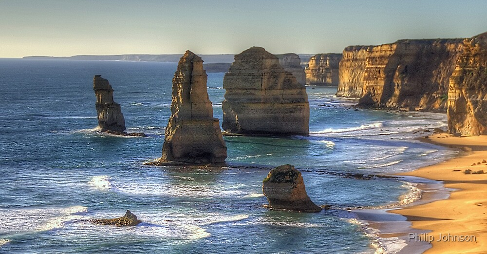 Weathered In Time # 2 - The Twelve Apostles - Great Ocean Road Victoria - The HDR Experience by Philip Johnson