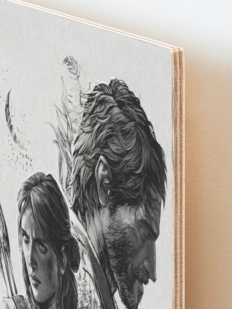 Alternate view of The Last of Us Part II Mounted Print
