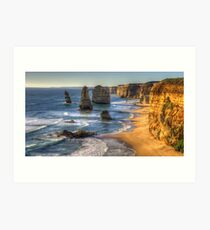 Degrees of Separation  #1 - The Twelve Apostles, The Great Ocean Road, Australia - The HDR Experience Art Print