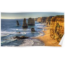 Degrees of Separation  #1 - The Twelve Apostles, The Great Ocean Road, Australia - The HDR Experience Poster