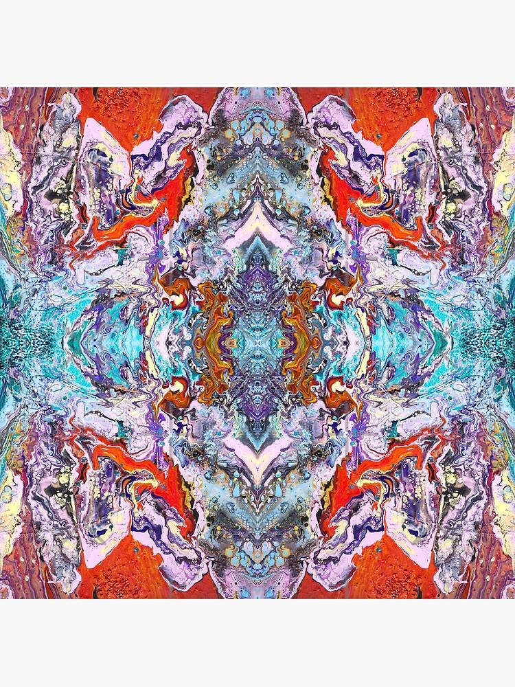 Fluid painting magic of love kaleidoscope by nobelbunt