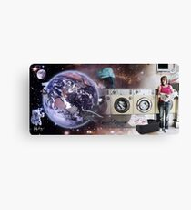 A Strange Occurrence At The Launderette Canvas Print