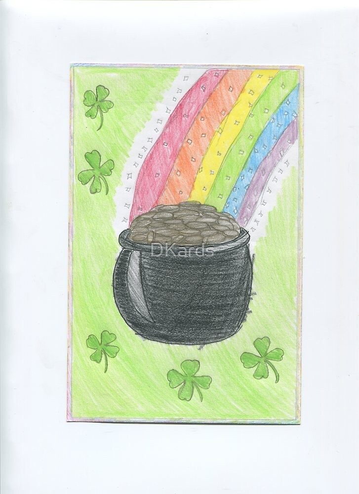St Patrick's Day rainbow by DKards
