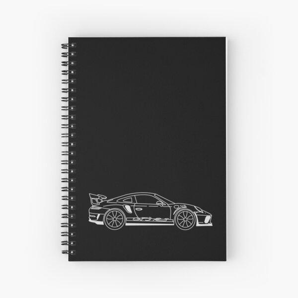 Porsche GT3 RS Spiral Notebook