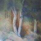 Saras forest by Ellen Keagy