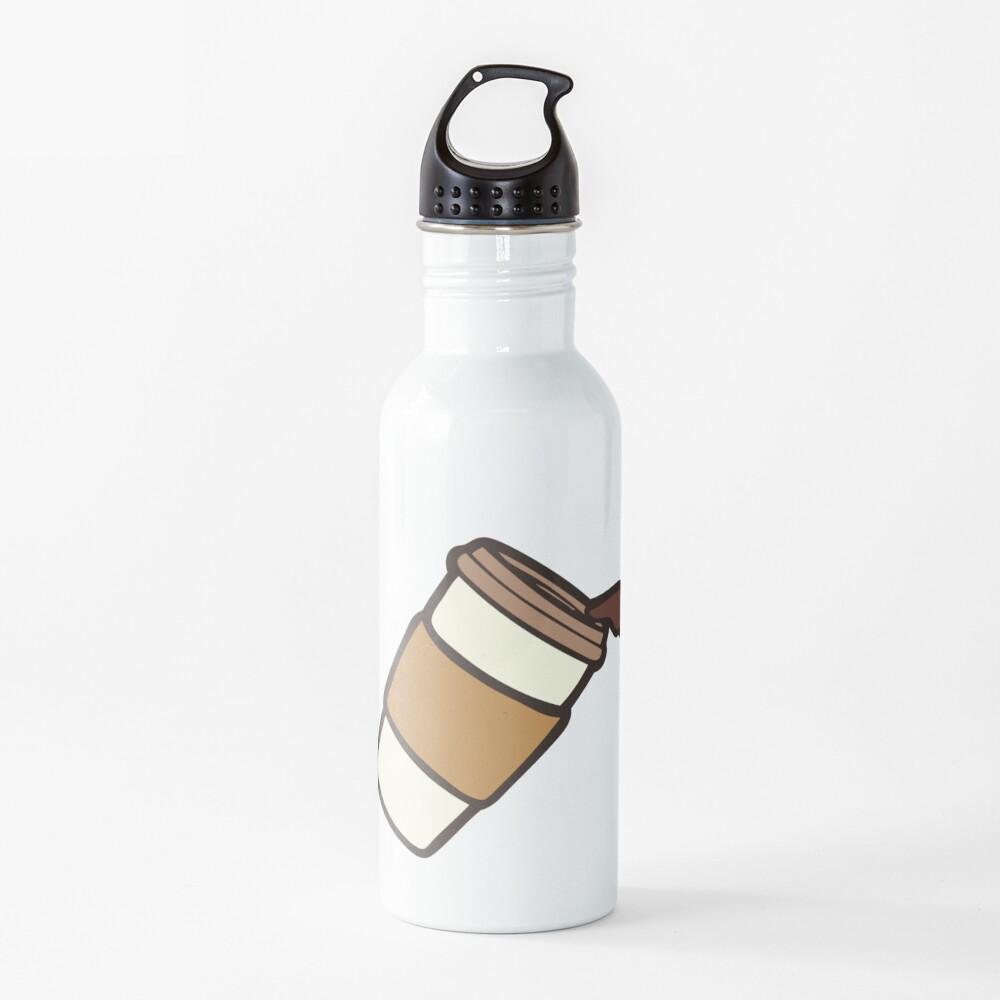 Take it Away Coffee Pattern Water Bottle