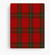 00087 MacGregor #2 Clan/Family Tartan  Canvas Print