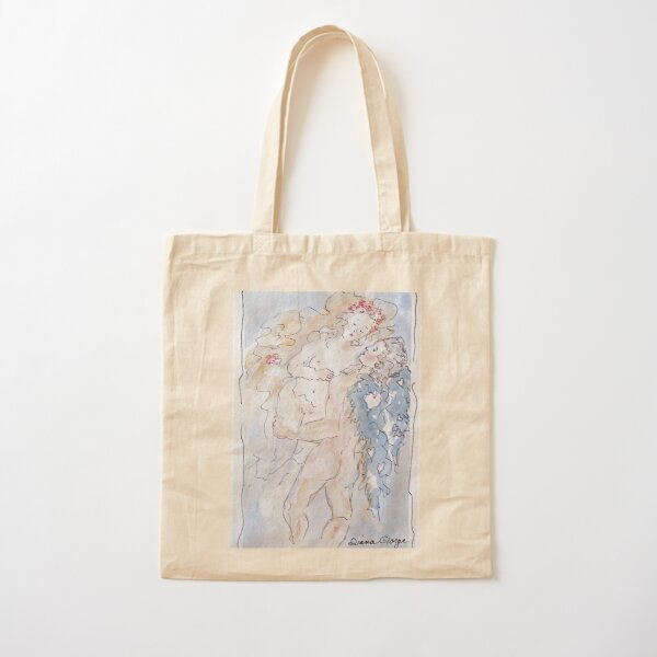 Angel of Love Cotton Tote Bag