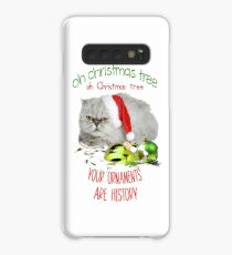 Funny Christmas Cat Oh Christmas Tree Case/Skin for Samsung Galaxy