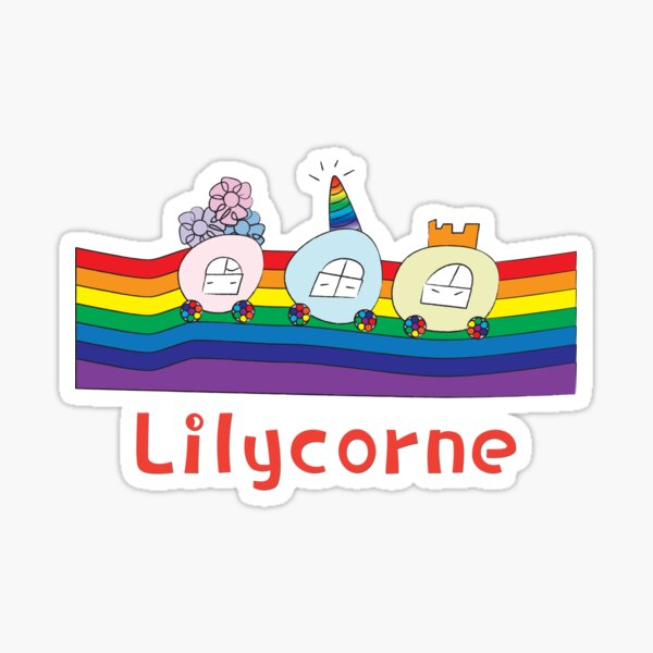 Lilycorne, the 3 carriages Sticker